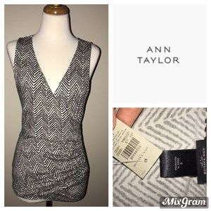 Ann Taylor V-Neck Blouse